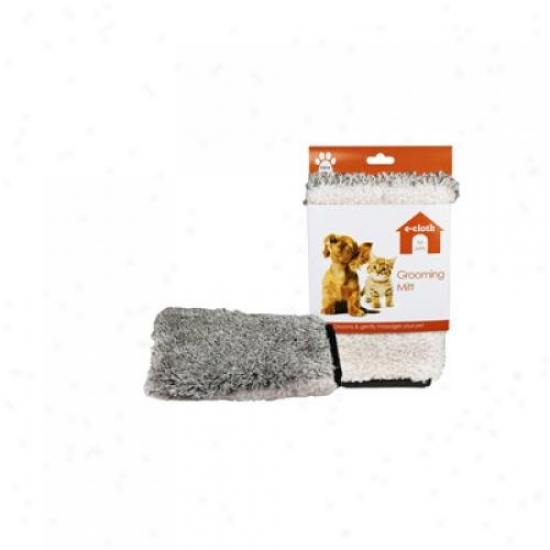 E-cloth E-pet Grooming Mitt