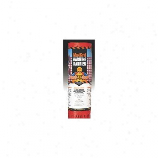 Easy Gardener - Maxigrid Warning Barrier- Orange 4 X 100 Ft - Rc114100