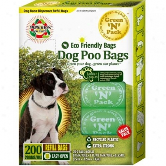 Eco-friendly Bgs Dog Poo Bags 200 Pack