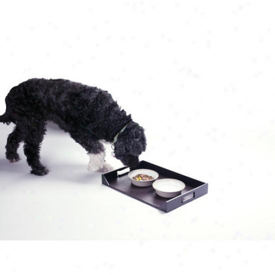 Enchanted Home Pet Dog Feeding Platter