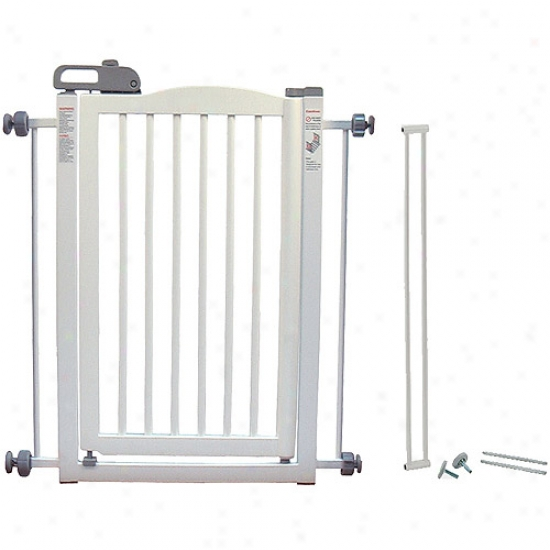 Essential Pet Producte 94160 The same Interfere with Pet Gate - White
