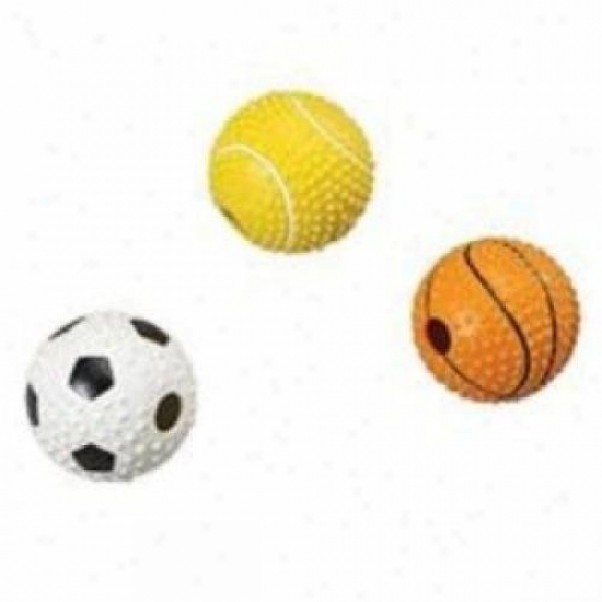 Ethical Dog 4132 Mvp Sport Ball With Bell