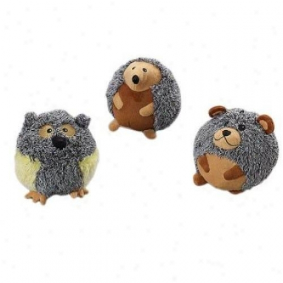Ethical Dog 4143 Butterballs Forest Animals