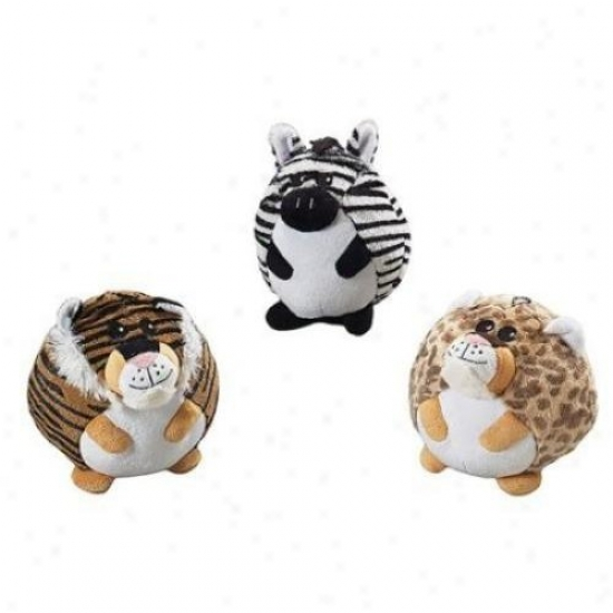 Ethical Dog 4145 Butterballs Jungle Animals