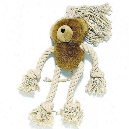 Ethical Dog 4193 Moppets Pludh&rope Dg Toh Bear