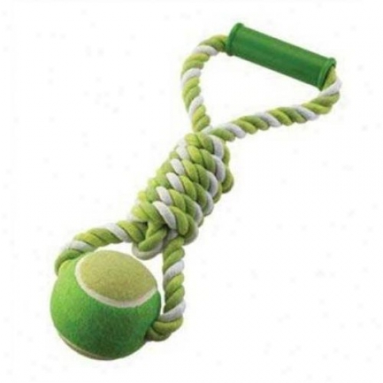 Ethical Dog 5434 Mega Twister Ball Tug