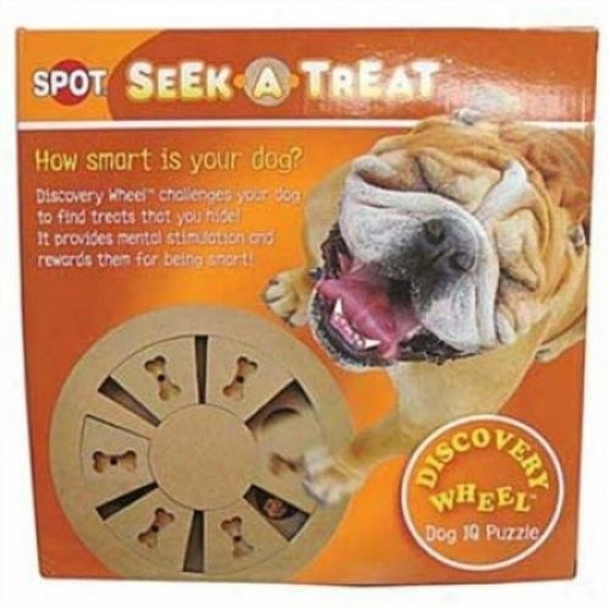 Ethical Dog 57795 Seek-a-treat Discovery Revolve Puzzle