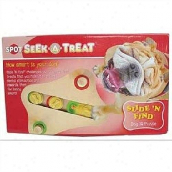 Ethical Dog 5786 Seek-a-treat Slide N Find Puzzle
