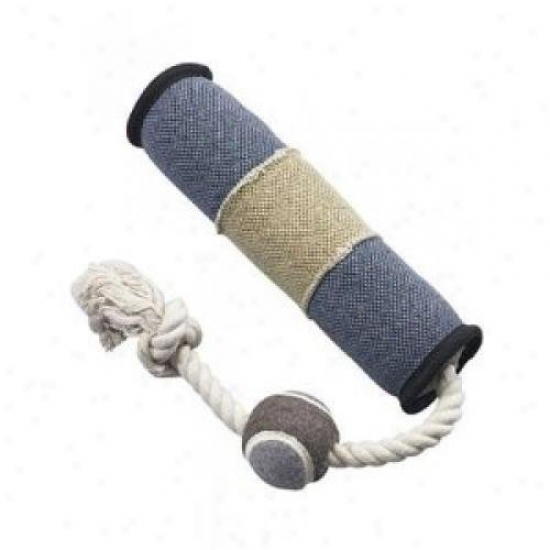 Ethical Dog 5993 Dura-fused Canvas Tug With Ball