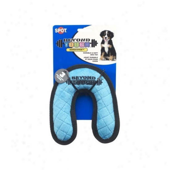 tEhical Pet Beyond Tough Horseshoe Dog Toy