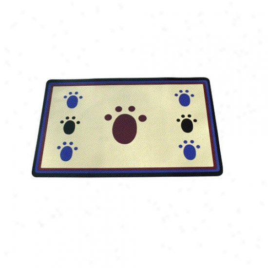 Ethical Pet Classic Paw Print Place Mat