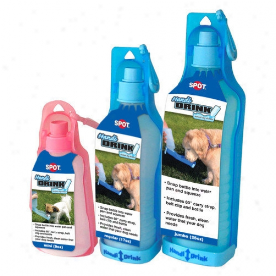 Ethical Pet Handy Drink Dog Water Bottle (set Of 6)