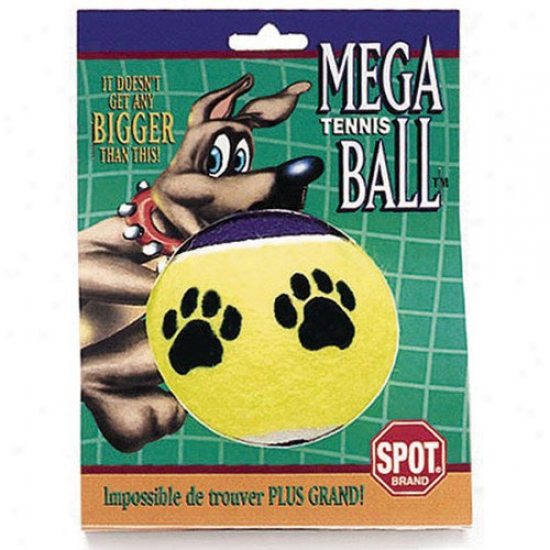 Ethical Pet Jumbo Tennis Ball Dog Toy