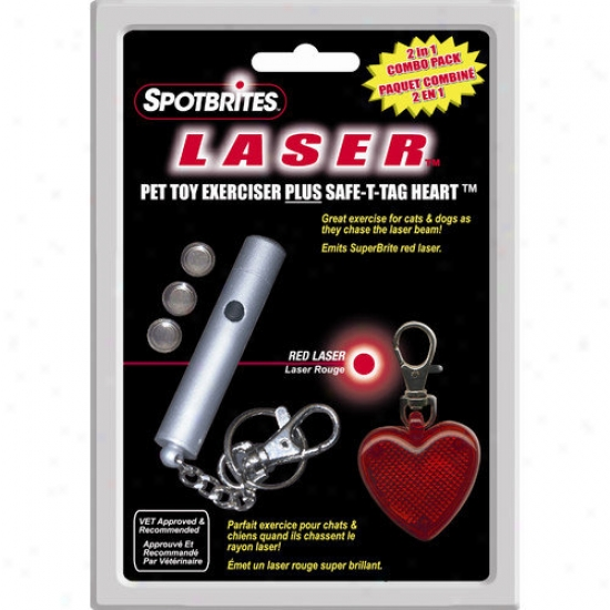Ethical Pet Laser Spotbrites Heart Combo Pack