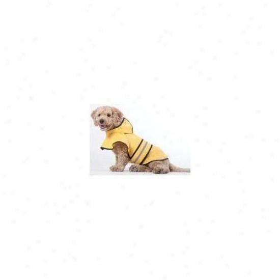 Ethical Pet Rainy Days Dog Slicker In Yellow