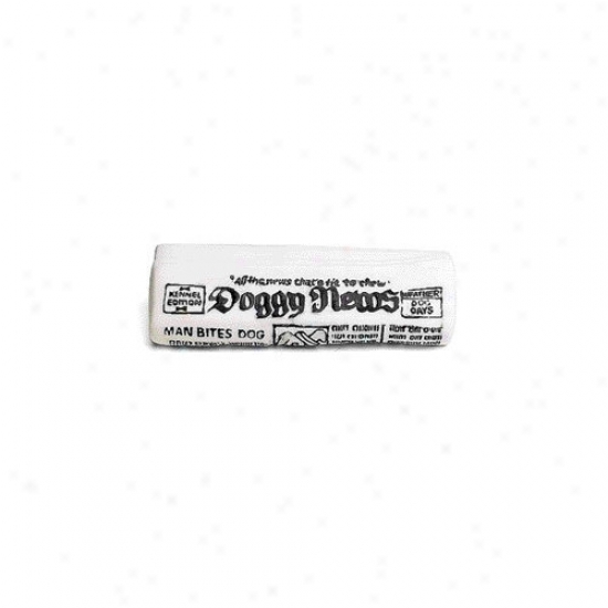 Ethical Pet Vinyl Newspaper With Squeaker Dog Toy