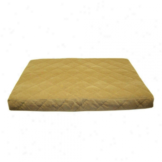 Everest Favorite Quilted Orthopedic Dog Bed With Protector  Pad In Chcoolate