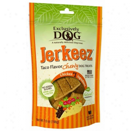 Exclusively Pet 47200 Exclusively Dog Jerkeez Chewy Dog Treats