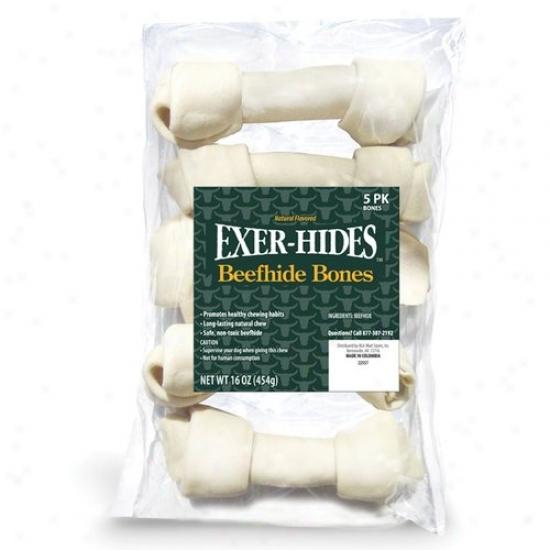 Exerhide Natural Bones, 5-pack