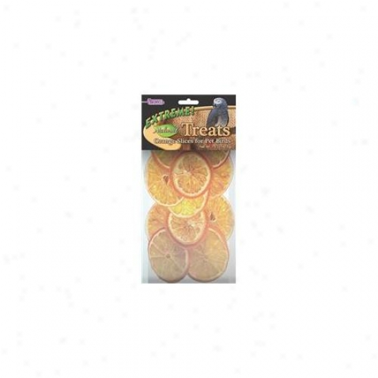 F. M.  Browns Pet - Extreme Naturals Orange Slices Treat 1. 4 Ounce - 44932-6
