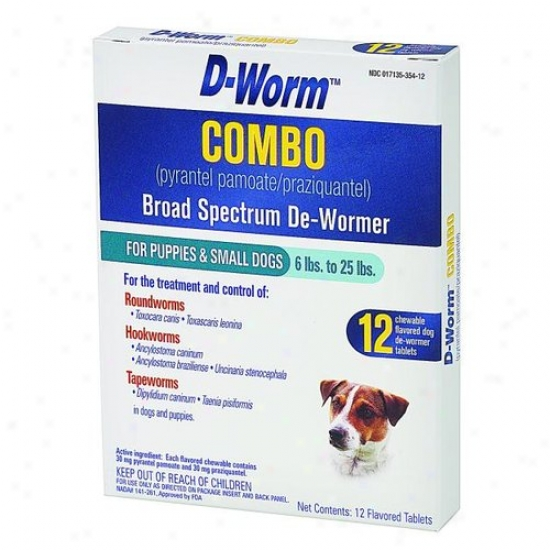Farnam 100503368 D-womr Combo Feeble Dog