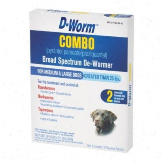 Farnam 100503371 D-worm Combo Large Dog