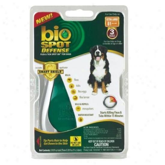 Farnam 100505007 Bio Spot Defense Flea And Tick Spot On For Dogd