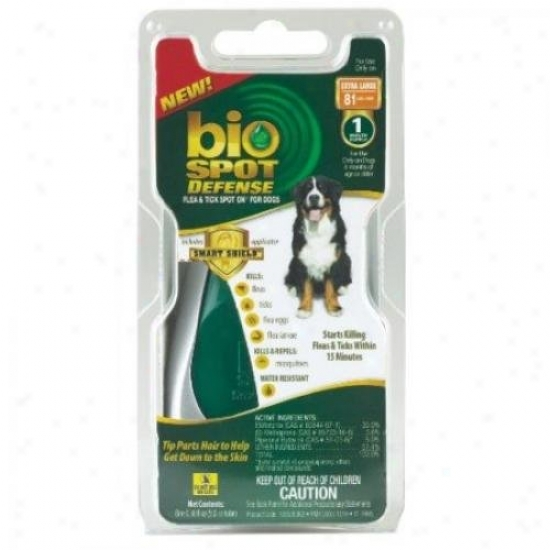 Farnam 100505052 Bio Spot Defense Flea And Tick Spot On For Dogs