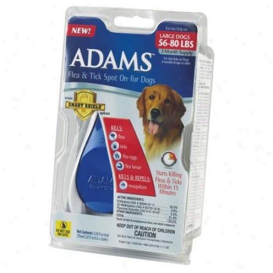 Farnam 100507384 Adams Flea And Tick Spot On For Dogs