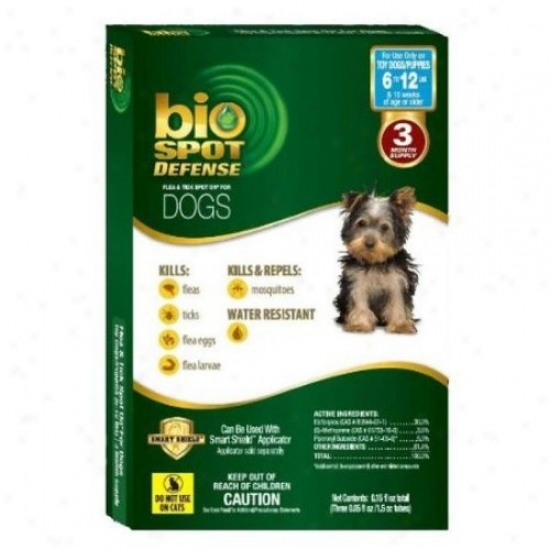 Farnam 100512472 Biospot Defense Topical Flea And Tick Refill For Dog