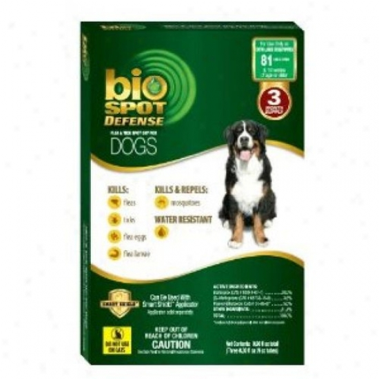 Farnam 100512476 Biospo Defense Topical Flea And Tick Refill For Dog