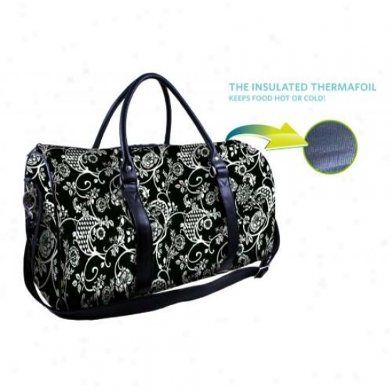 Fit And Fresh 435wff79 Carrier Bag With Bowl Banrw All Over Floral