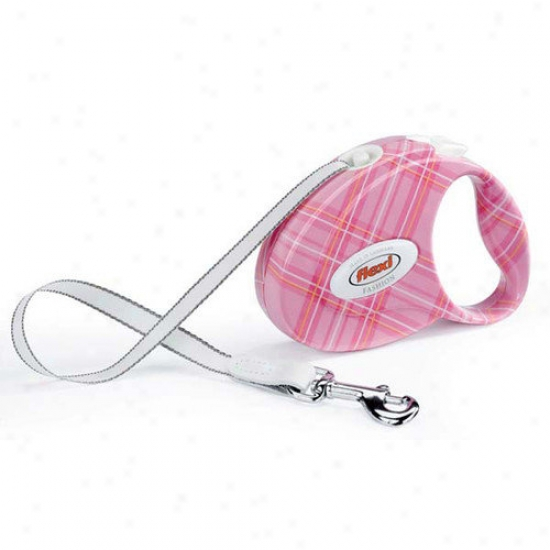 Flexi Fashion Retractable Tape Dog Leash In Paris