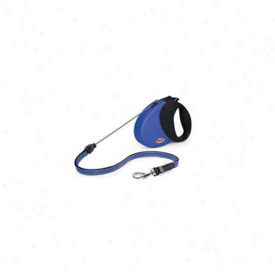 Flexi Usa Inc - Explore Softgrip Leasy- Blue-black Medium-26 Feet - Explore Hold M Bl