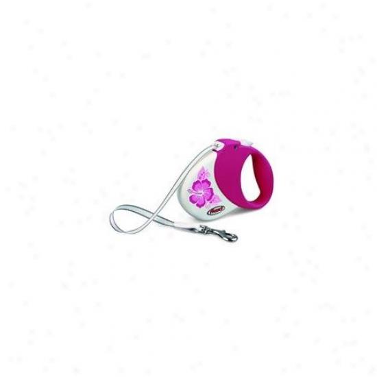 Flexi Usa Inc - Hawaii Leash- Purple Small-med-16 Ft-  Comfort Belt 1 Pl-h