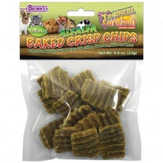 Fm Browns 44960 Tropical Carnical Alfalfa Baked Crisp Chips