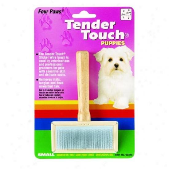 Four Paws 100202036/00345 Tt Slicker Wire Brush F/puppie