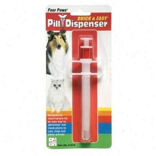 Four Paws 100202162/01915 Quick And Easy Pill Dispenser
