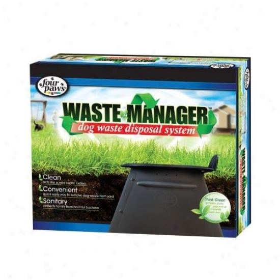 Four Paws 100203176/18275 Waste Manager