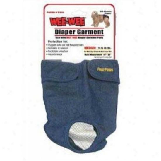 Four Paws 100203254/18892 Diaper Garment