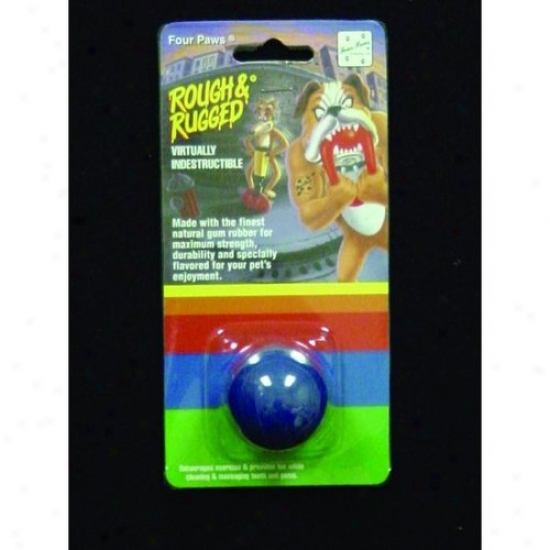 Four Paws 100203370/20020 Rough An Rugged Solid Ball