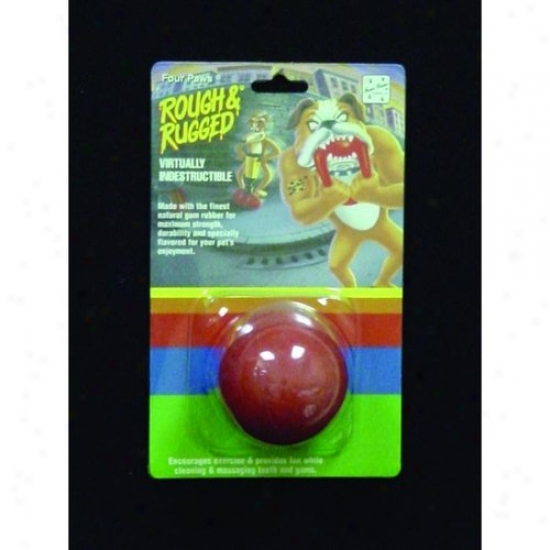 Four Paws 100203372/20027 Rough And Rugged Solid Ball