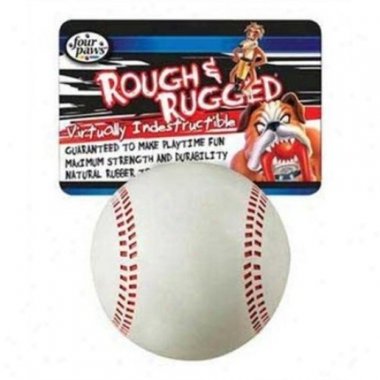 Four Paws 100203388 20250 Rr Baseball With Bell Dogs