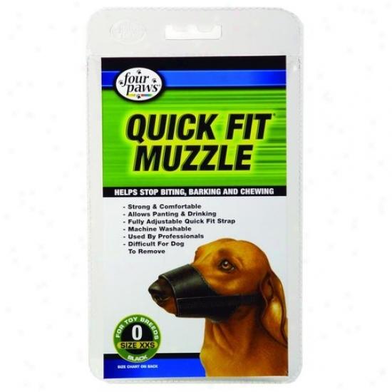 Four Paws 100203674/59000 Quick Fit Muzzle