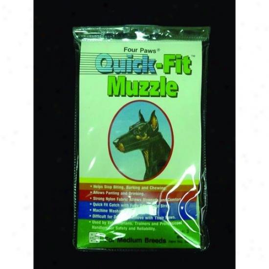 Four Paws 100203677/59030 Quick Fit Muzzle