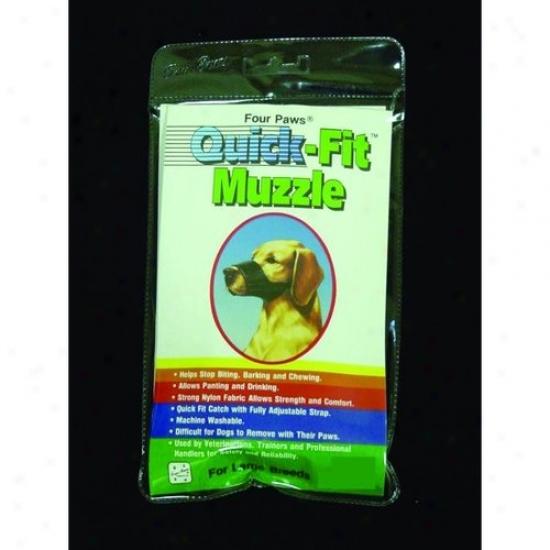 Four Paws 100203681/59050 Quick Fit Muzzle