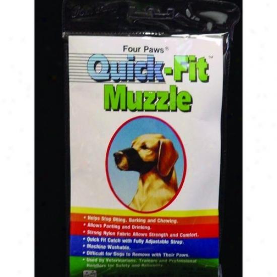 Four Paws 100203682/59055 Quick Fit Muzzle