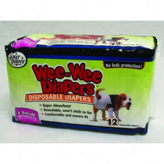 Four Paws 100204282/18811 Wee Wee Diapers