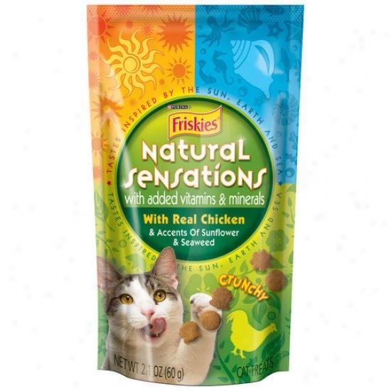 Friskies Natural Sensations Pouch Cat Treats