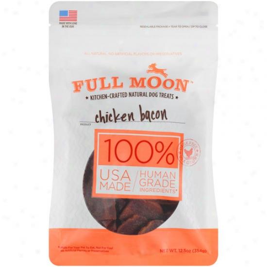 Full Moon Chicken Bacon Dog Treats, 12.5 Oz